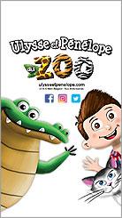Ulysse et Pénélope au zoo iPhone 5