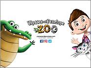 Ulyss et Pénélope au zoo iPad