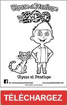 Coloriage Ulysse et Pénélope