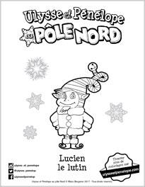 Lucien coloriage