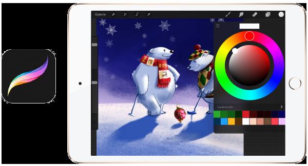 PrCreate application, app, iPad